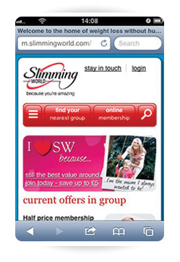 slimming world is mobile friendly news stories